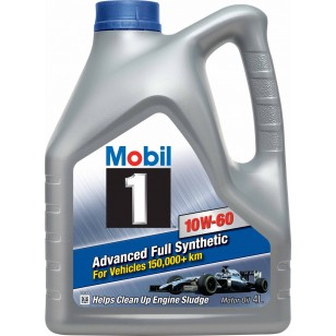 Mobil 1 Extended Life 10W-60, 4л.