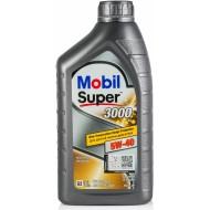 Mobil Super 3000 X1 5W-40, 1л.