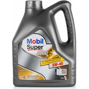 Mobil Super 3000 Diesel 5W-40, 4л.