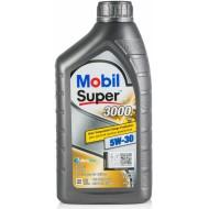 Mobil Super 3000 XE 5W-30, 1л.