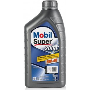Mobil Super 2000 X3 5W-40, 1л.