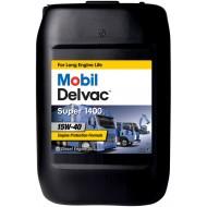 Mobil Delvac Super 1400 E 15W-40, 20л.